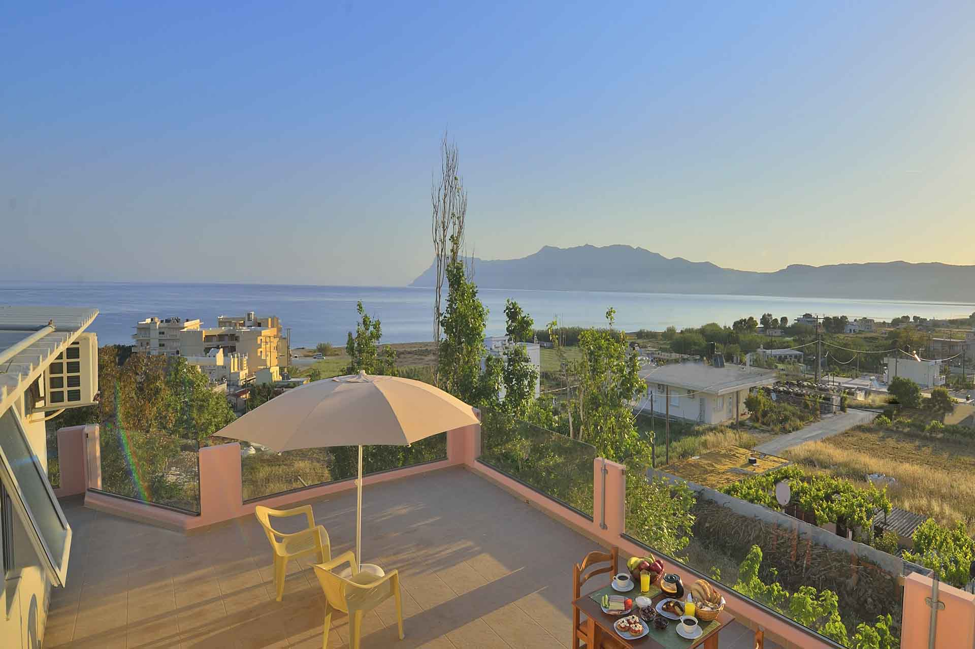 View | Accommodation - Callista Apartments in Kissamos